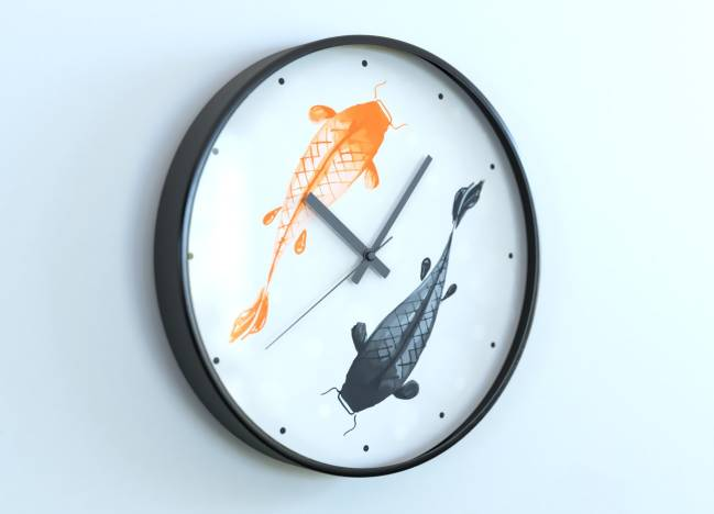 round clocks Poissons