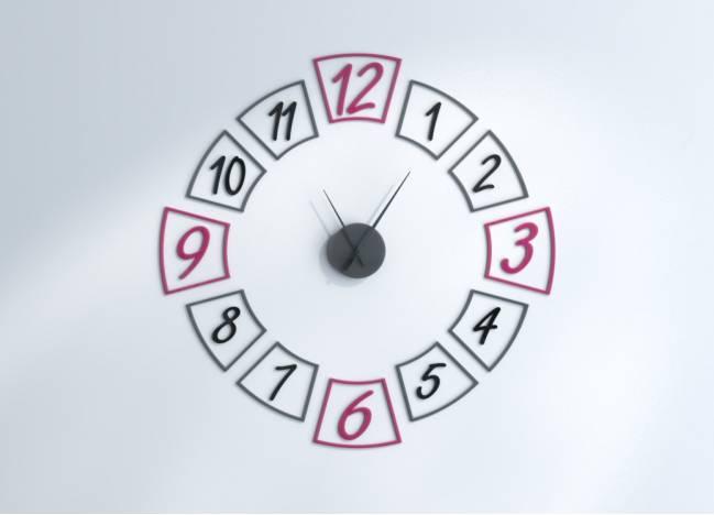 Relógios de parede Delta